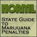 The NORML State by State guide to Marijuana Laws.